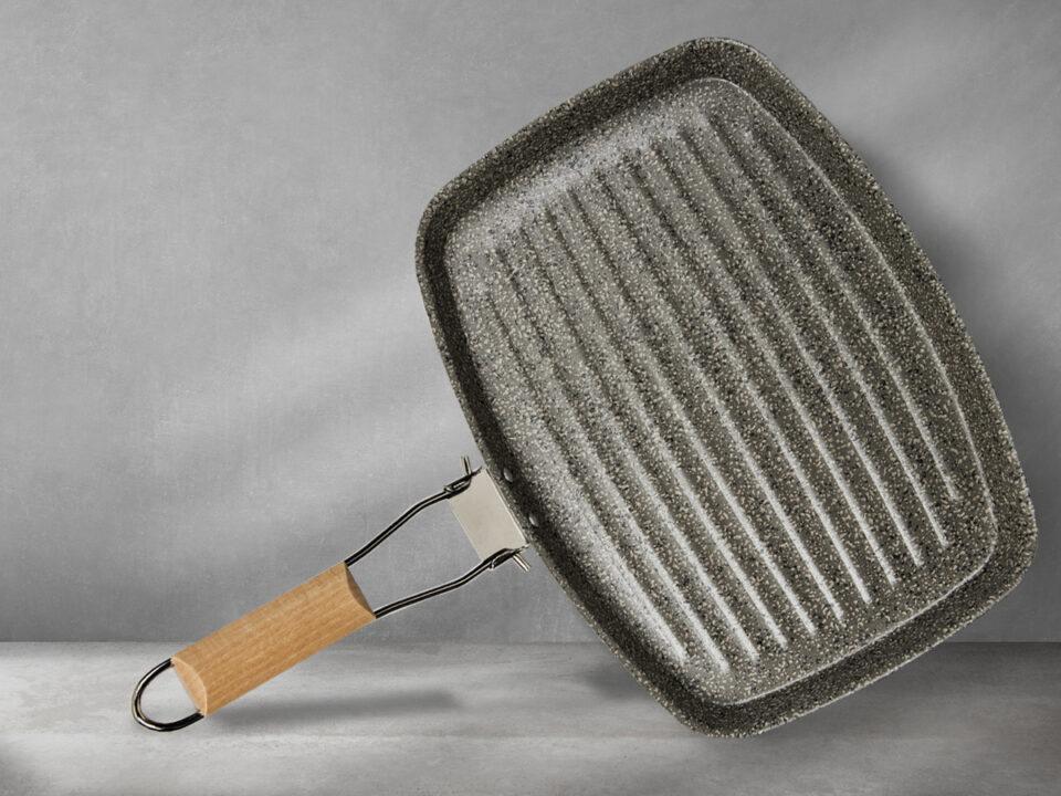 pulire la bistecchiera con metodi naturali